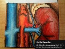 Vasculature of Kidneys by Michiko Maruyama