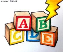 """Trauma ABC Daily Doodles"" by Michiko Maruyama"