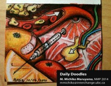 Needle Workshop Medical Daily Doodle by Michiko Maruyama